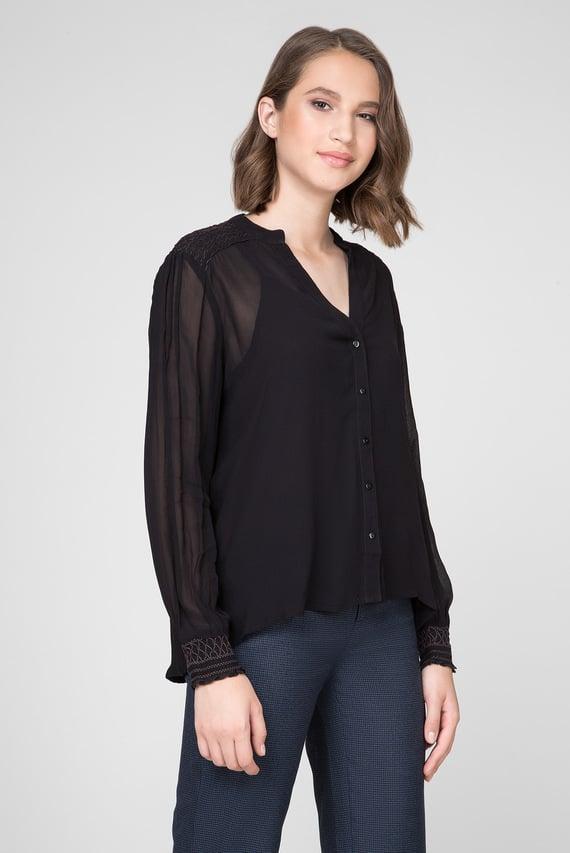 Женская черная блуза WANDA