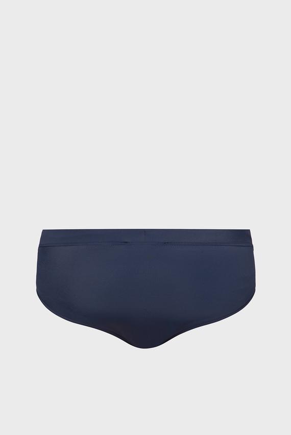 Мужские темно-синие плавки KNIT BRIEF