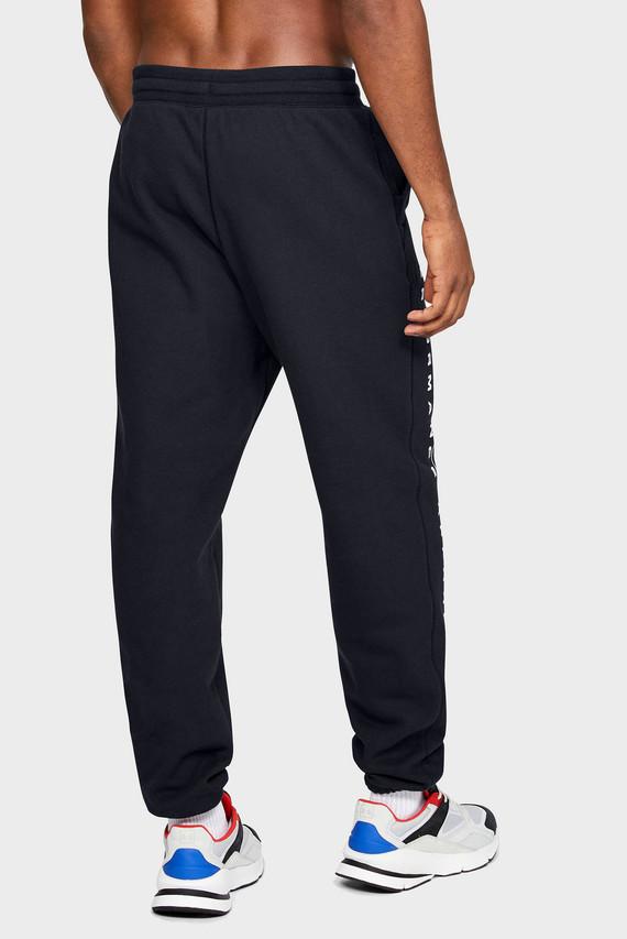 Мужские черные спортивные брюки UA PERFORMANCE ORIGINATORS FLEECE LOGO