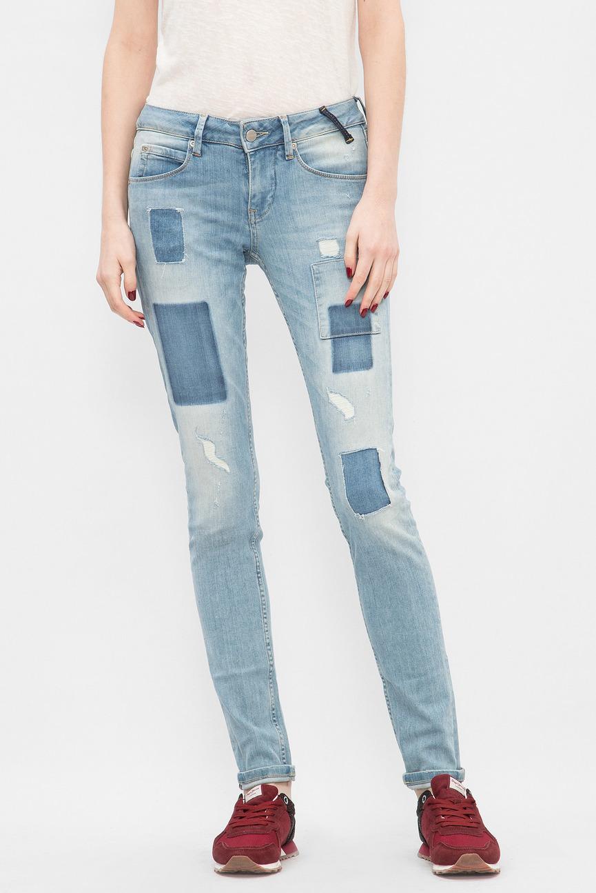Женские голубые джинсы Alyx