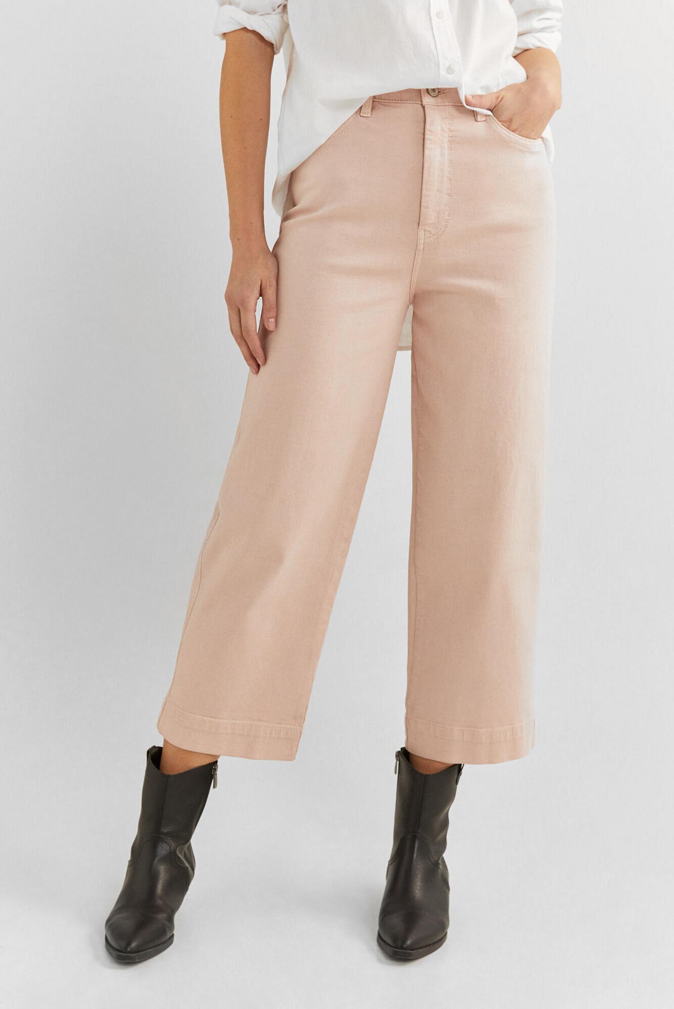 Женские розовые джинсы 1