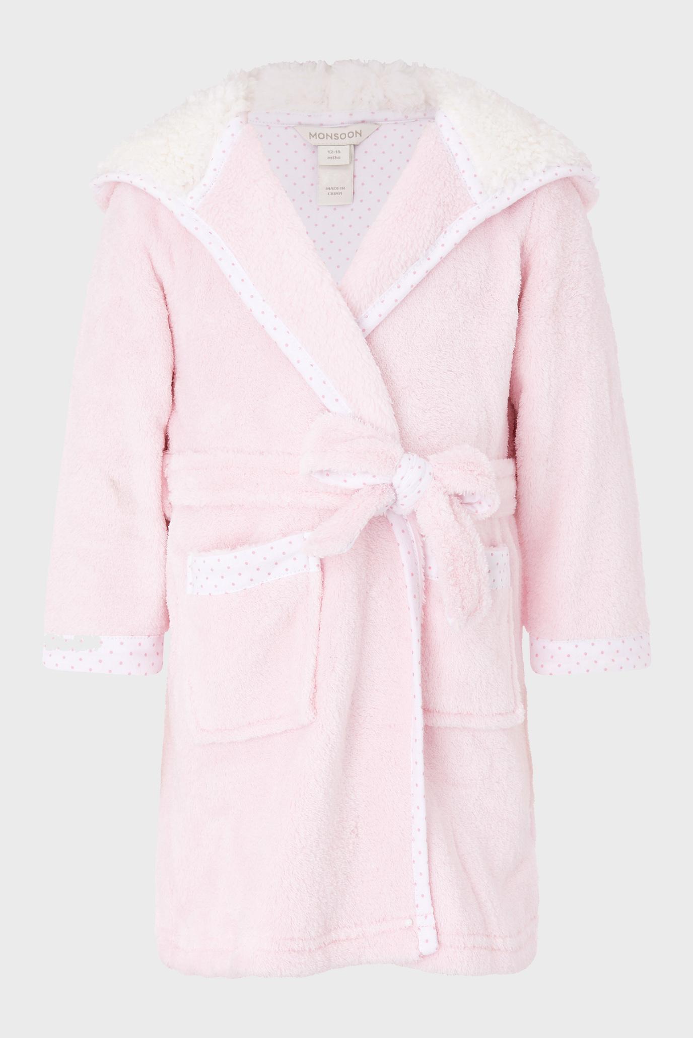 Дитячий рожевий халат BABY BEAR 1