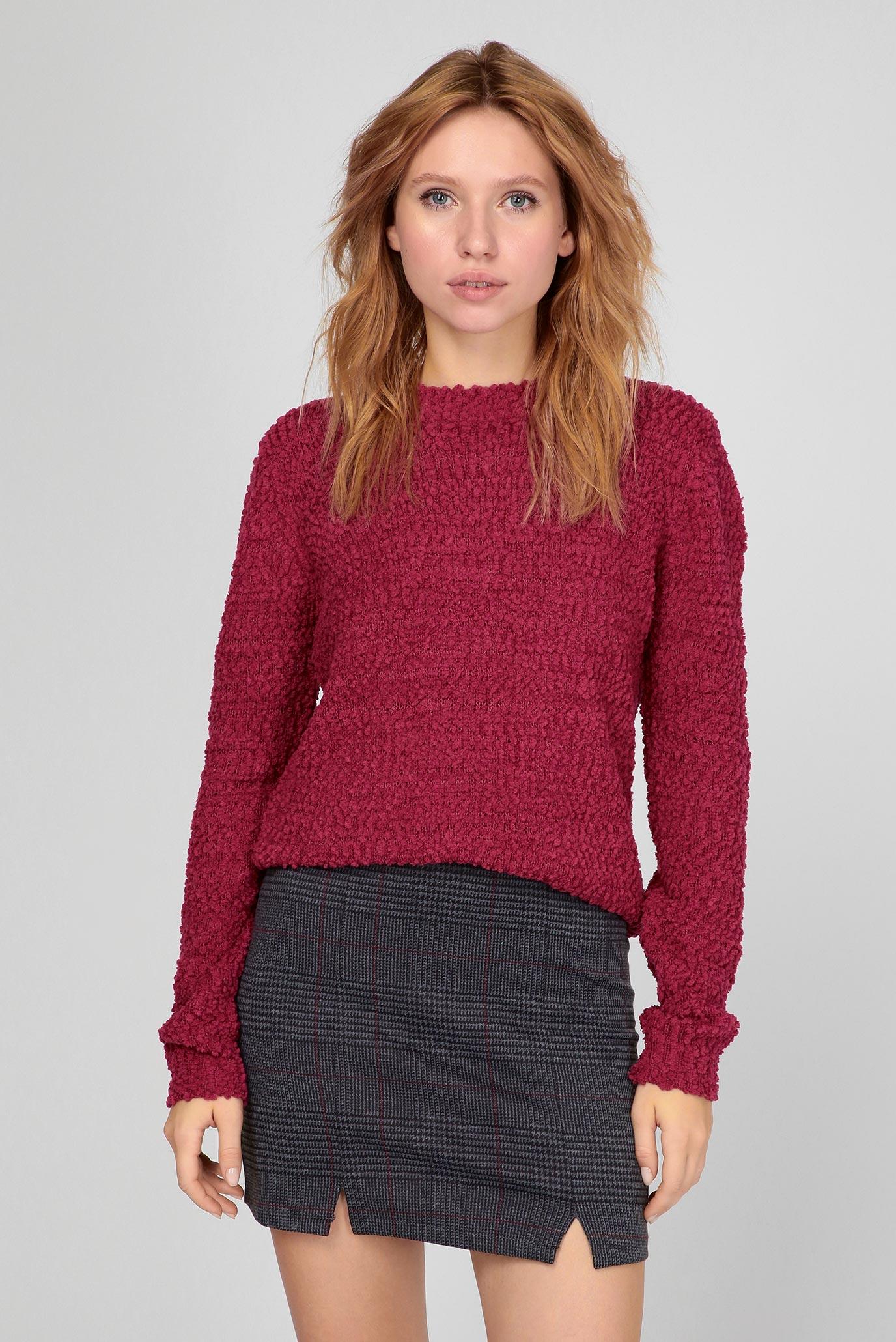 Жіночий рожевий светр 1