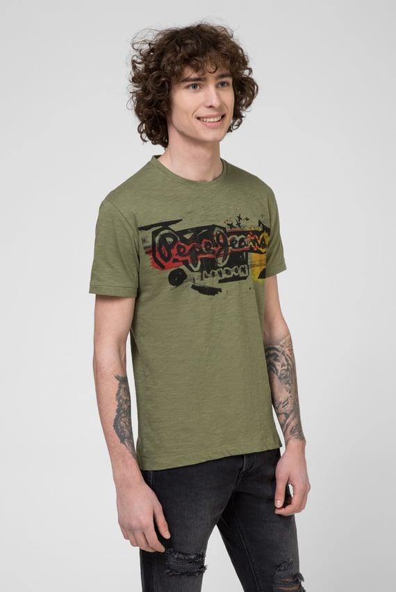 Мужская зеленая футболка AMERSHAM 734