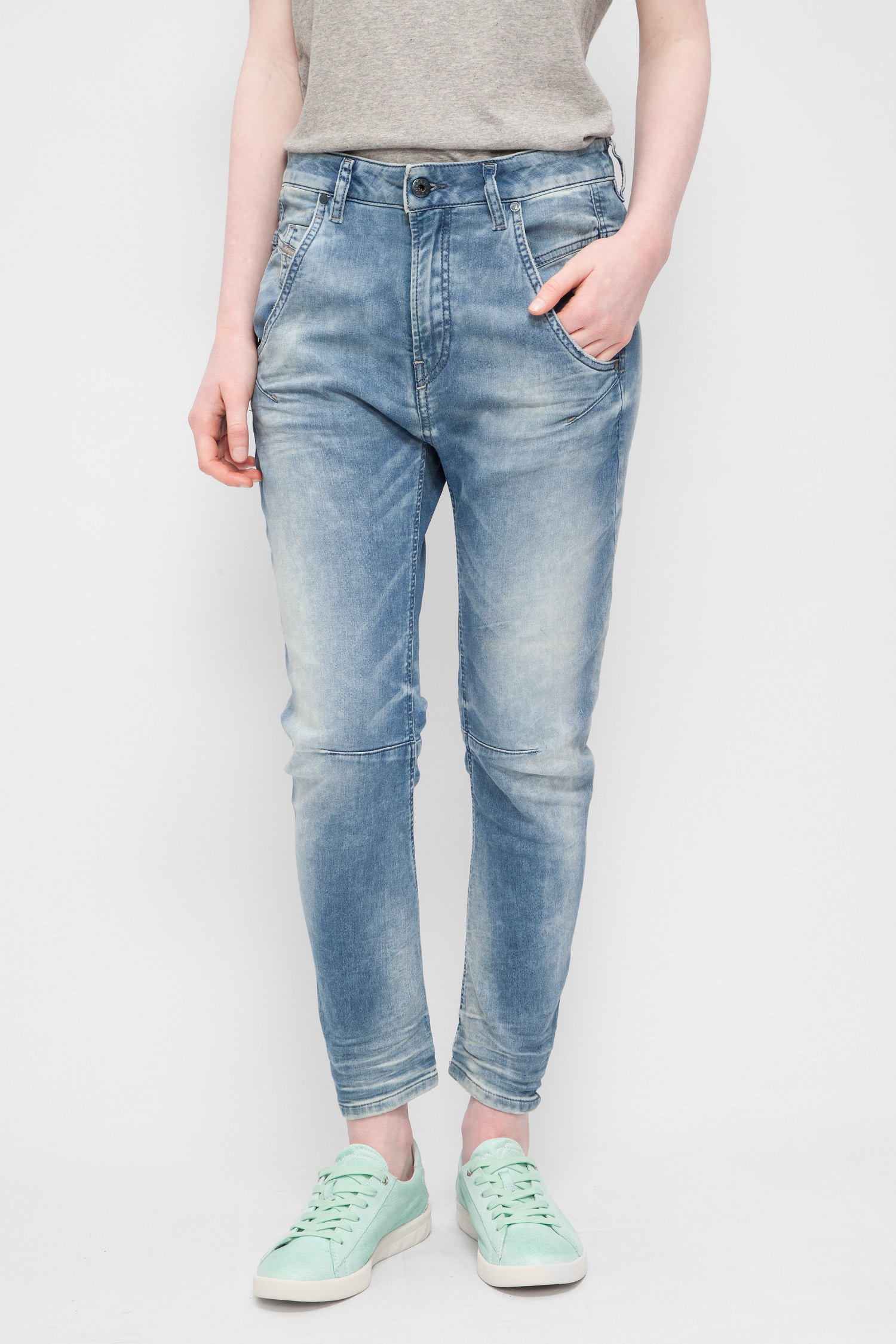 43b2f002fa61 Купить Женские синие джинсы FAYZA-NE Sweat jeans Diesel Diesel 00CYQV 0855C  – Киев, Украина. Цены в ...