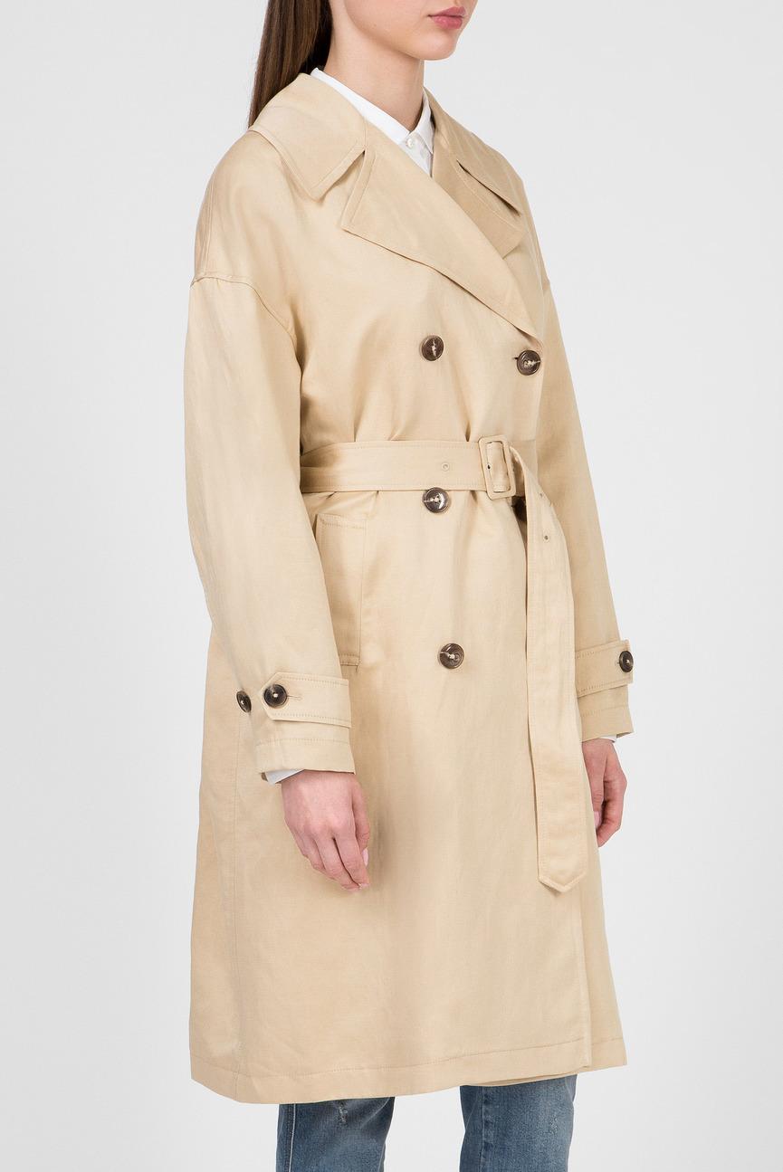 9cdfa8ef7924 Купить Женский светло-коричневый тренч Aefon trench G-Star RAW G ...