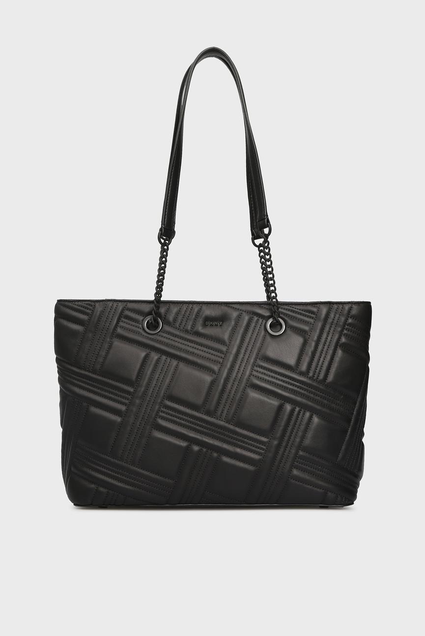 Женская черная сумка на плечо ALLEN-MD