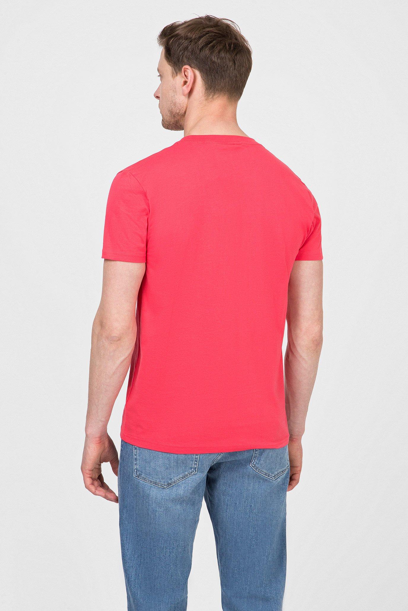 Купить Мужская розовая футболка GRAPHIC Gant Gant 2003034 – Киев, Украина. Цены в интернет магазине MD Fashion