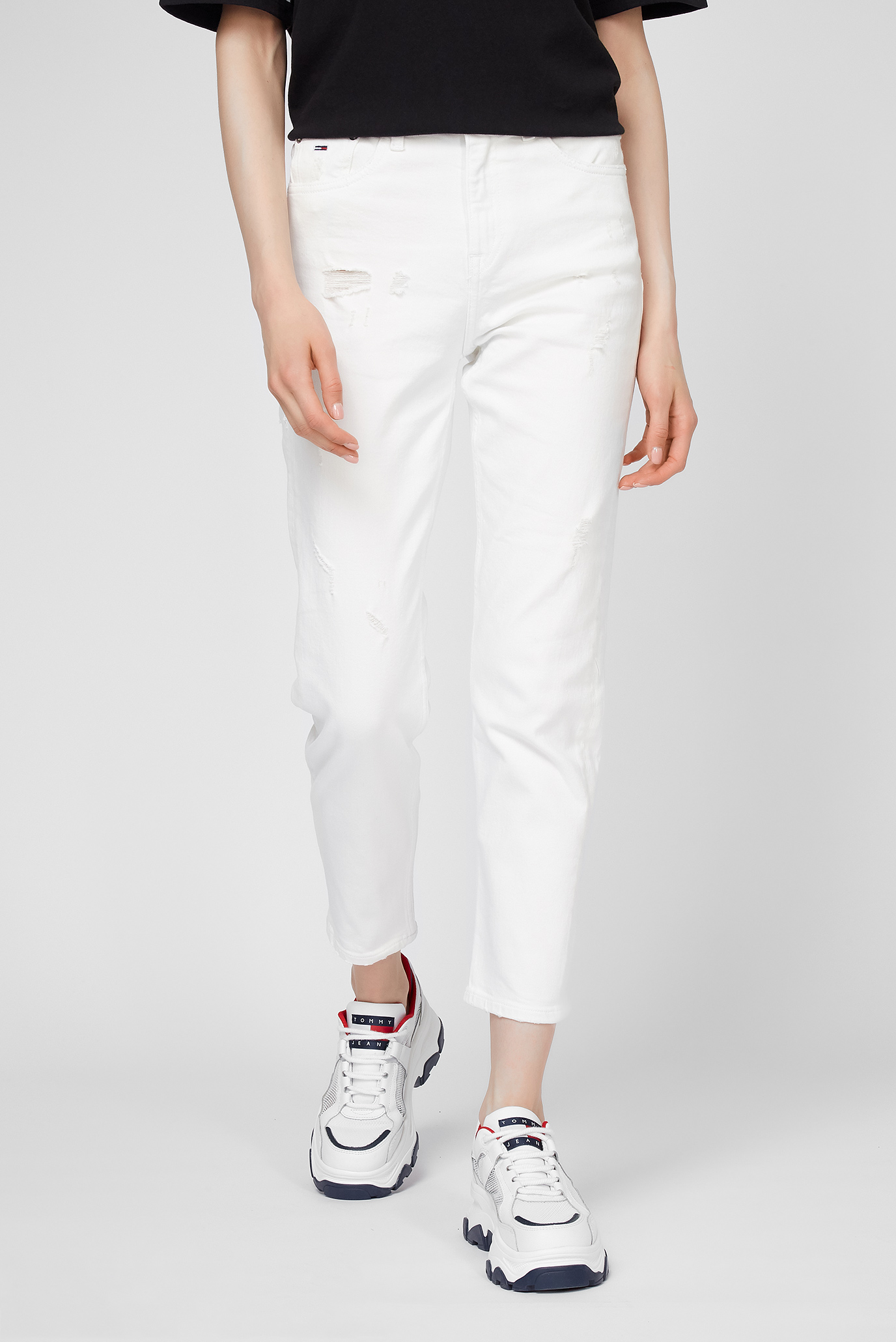 Женские белые джинсы IZZY HR 1