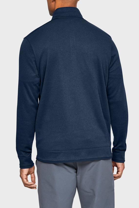 Мужская синяя кофта SweaterFleece 1/2 Zip