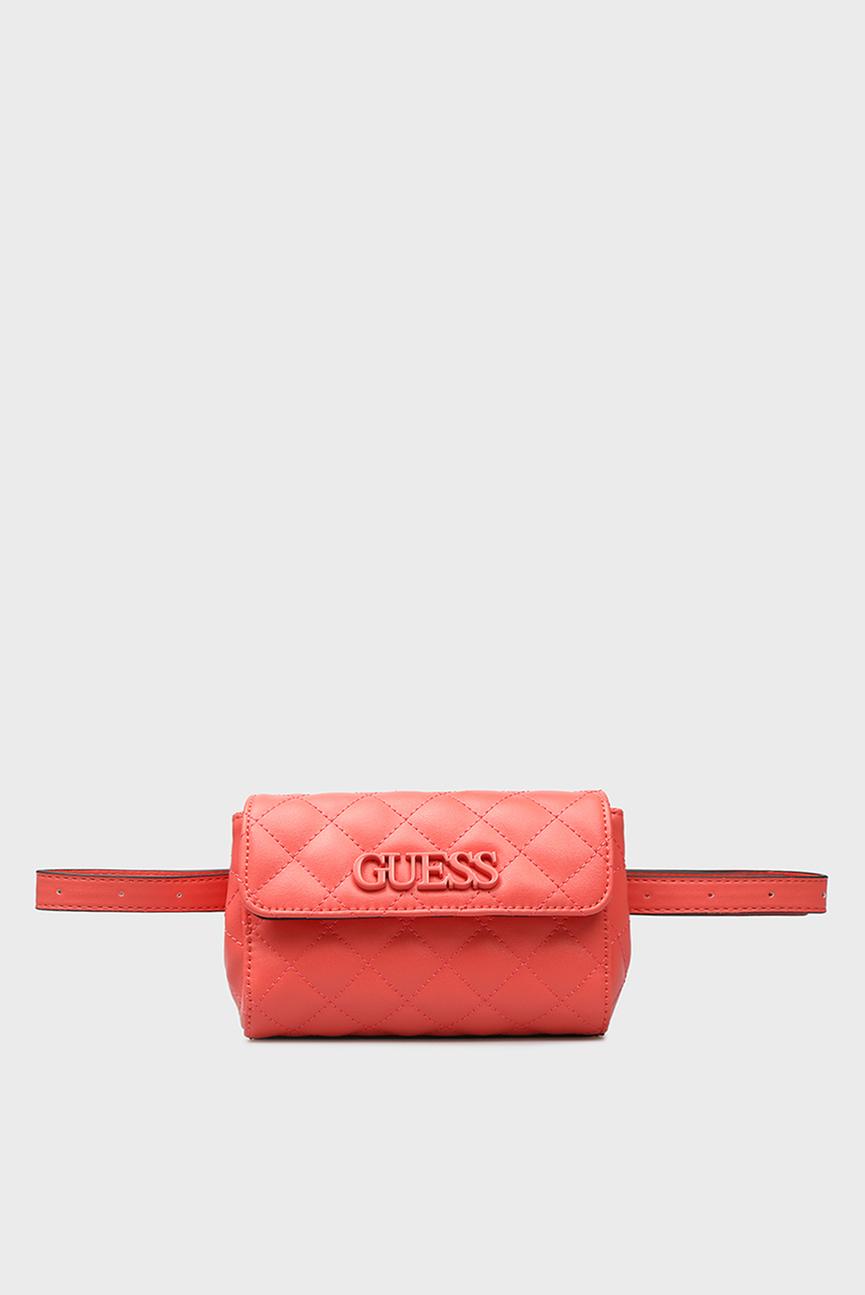 Женская коралловая поясная сумка ELLIANA
