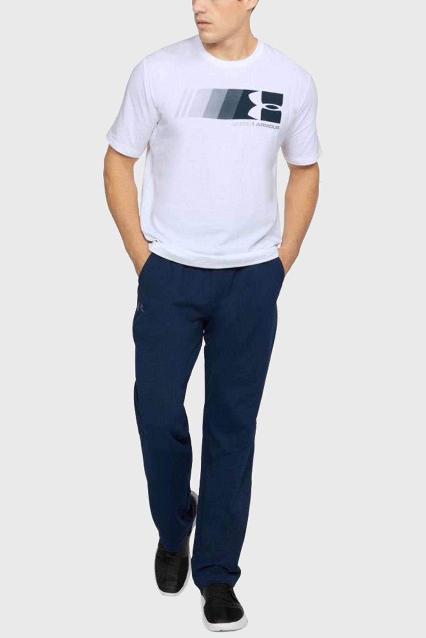 Купить Мужская белая футболка Fast Left Chest Update Under Armour Under Armour 1305659-100 – Киев, Украина. Цены в интернет магазине MD Fashion