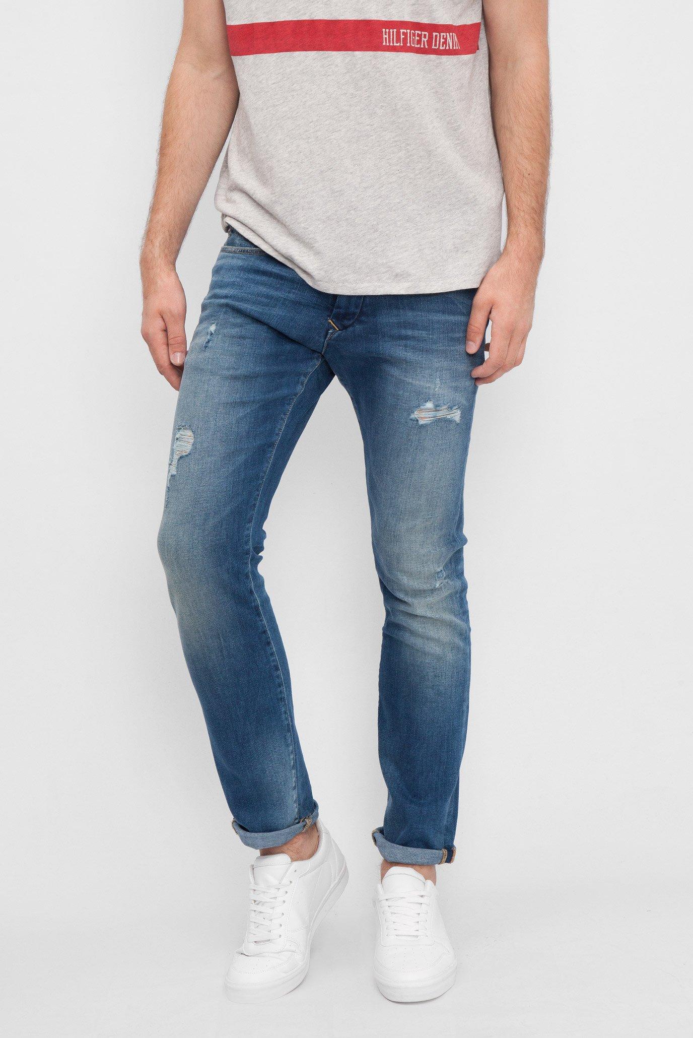 Купить Мужские синие джинсы  Tommy Hilfiger Tommy Hilfiger DM0DM01878 – Киев, Украина. Цены в интернет магазине MD Fashion