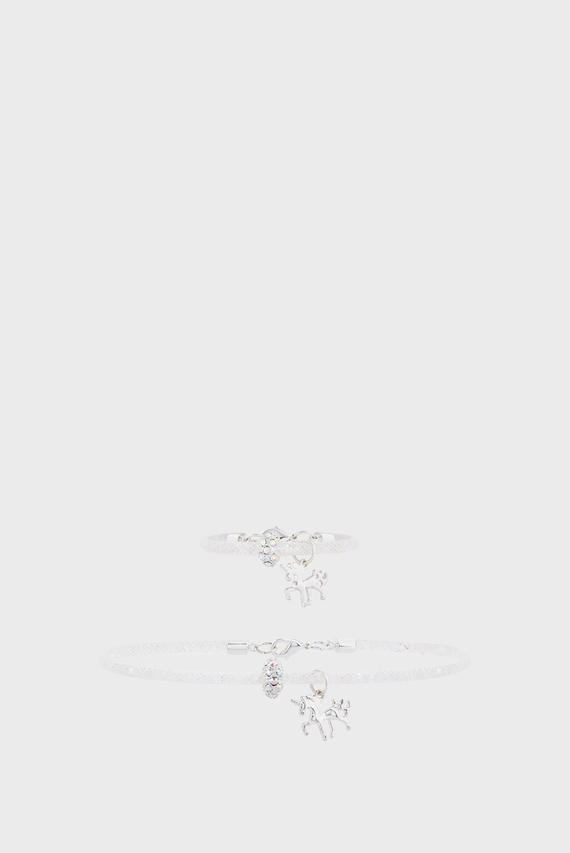 Набор детских украшений Sparkle Encased (подвеска, браслет)