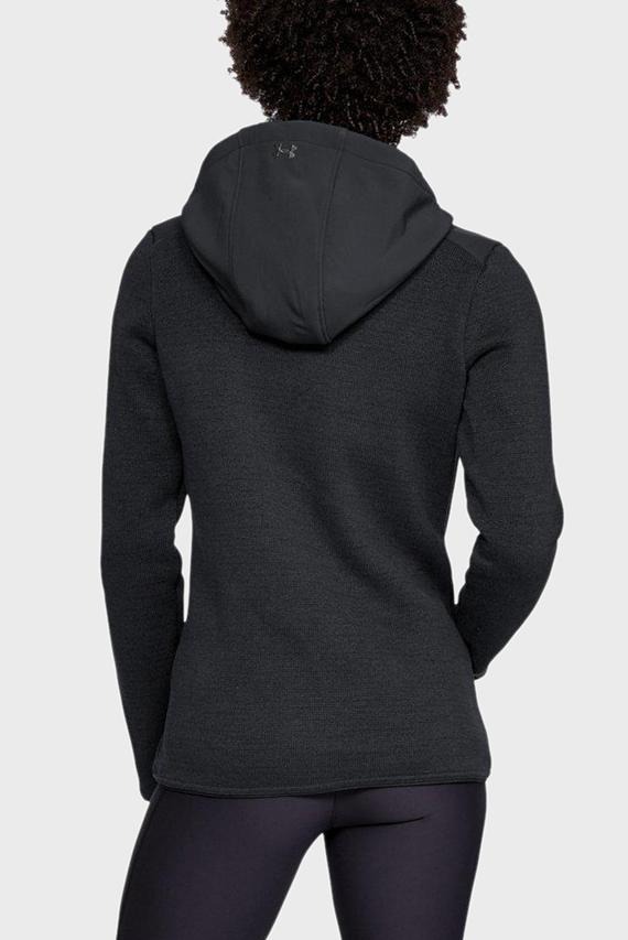 Женское черное худи UA Wintersweet Hoodie 2.0