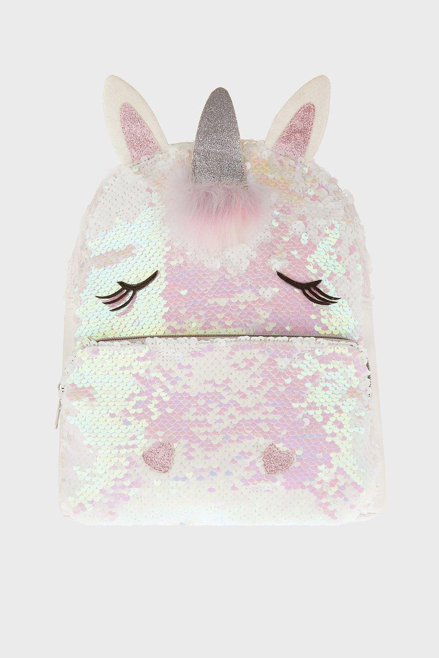 Детский белый рюкзак Sugar Sparkle Unicorn