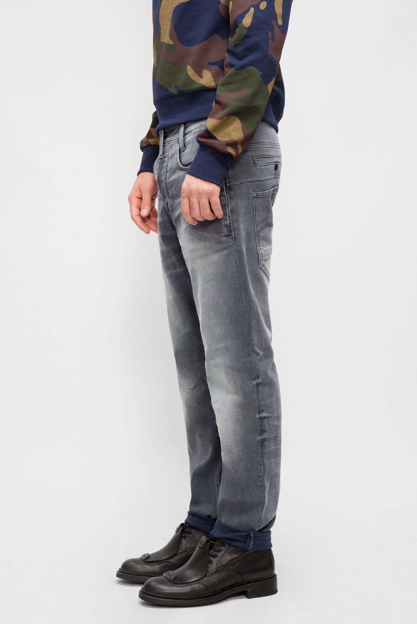 Купить Мужские серые джинсы D-Staq 3D Tapered G-Star RAW G-Star RAW D06163,9122 – Киев, Украина. Цены в интернет магазине MD Fashion
