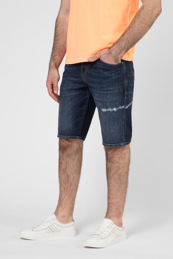 Мужские синие джинсовые шорты THOSHORT