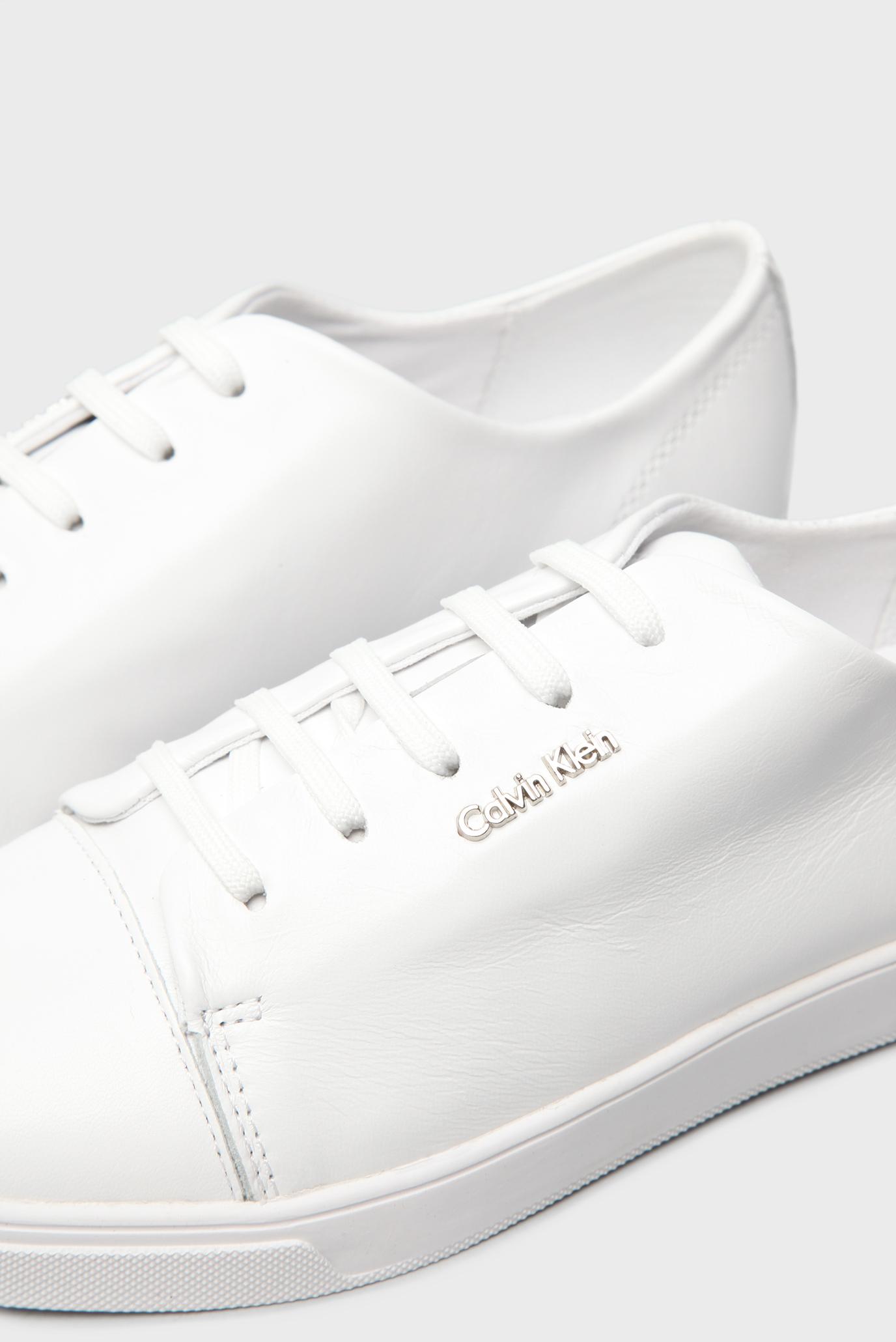 Купить Женские белые кожаные кроссовки Calvin Klein Calvin Klein N11899 –  Киев 9c41494858fe3