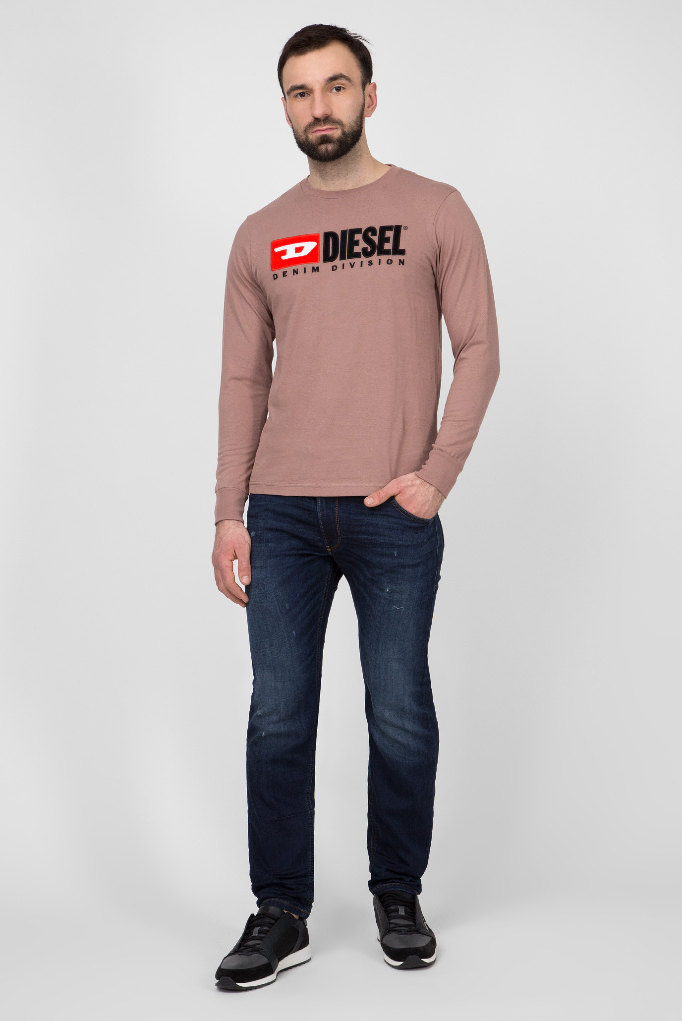 Мужские темно-синие джинсы KROOLEY CB-NE Sweat Jeans Diesel