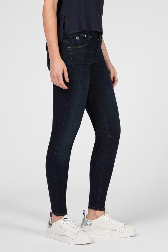 Женские темно-синие джинсы Arc 3D Mid Skinny Wmn