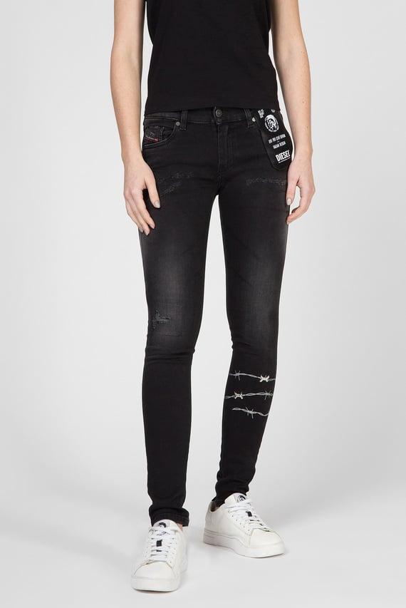 Женские черные джинсы SLANDY-LOW-SP L.32