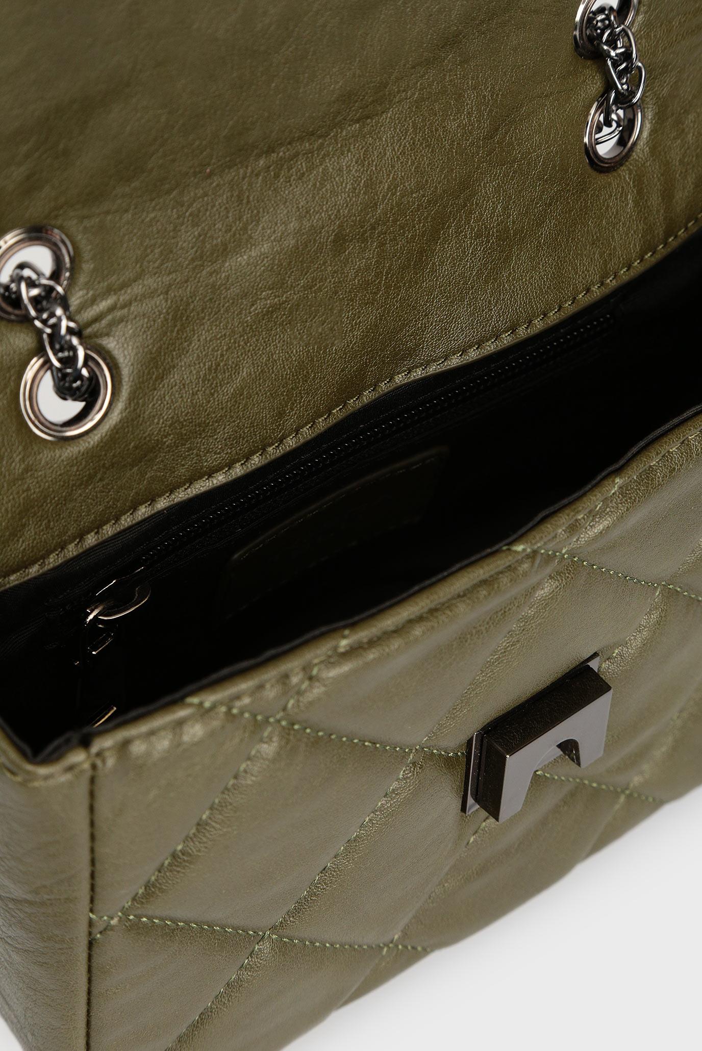 5b8969f72cf5 Купить Женская зеленая сумка на плечо Tosca Blu Tosca Blu TF1812B24 – Киев,  Украина. Цены в интернет ...