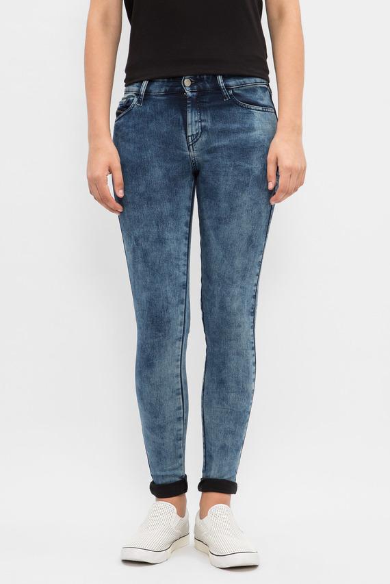 Женские синие джинсы SLANDY