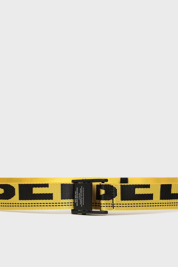 Мужской желтый ремень B-MASER