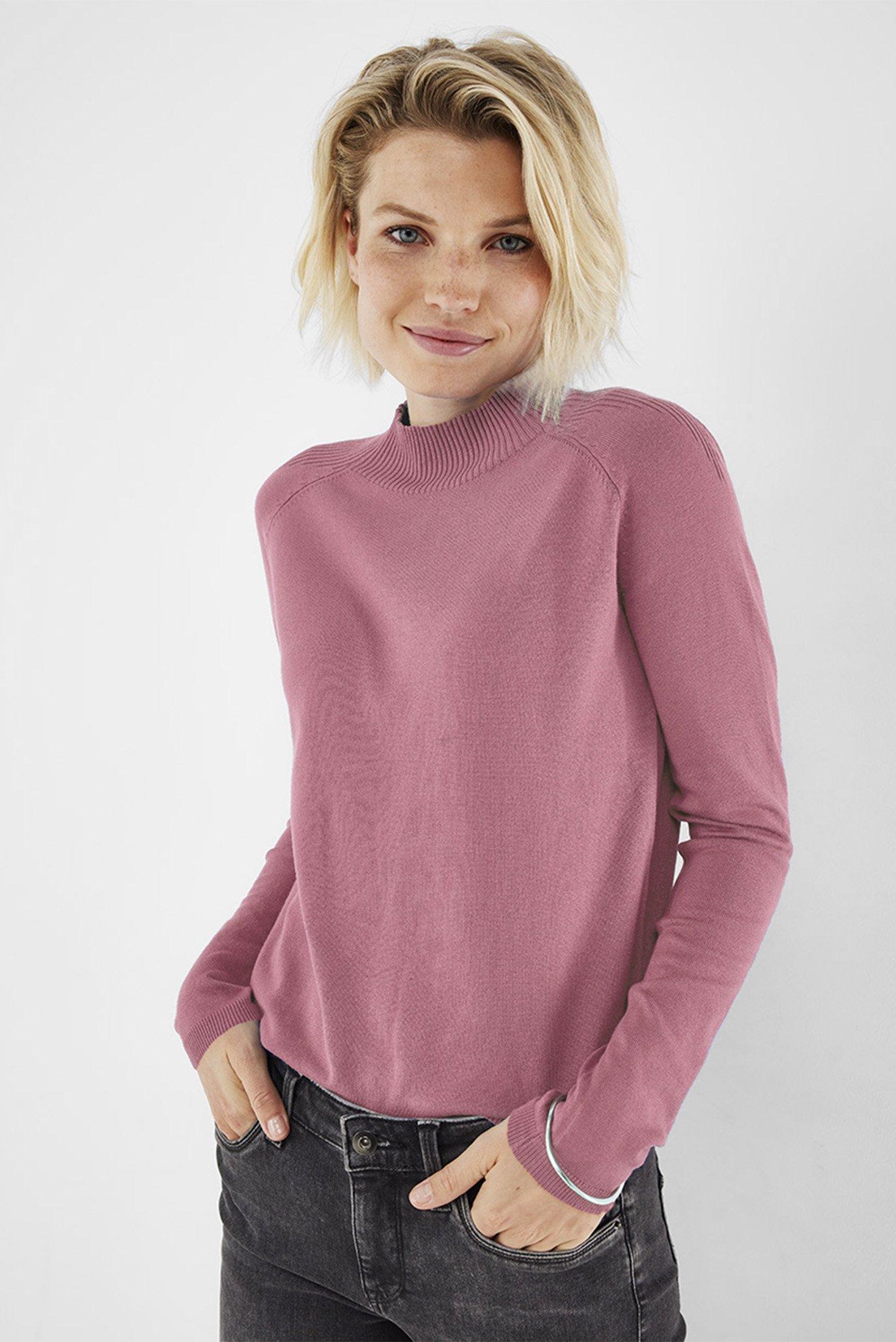 Женский розовый джемпер 1