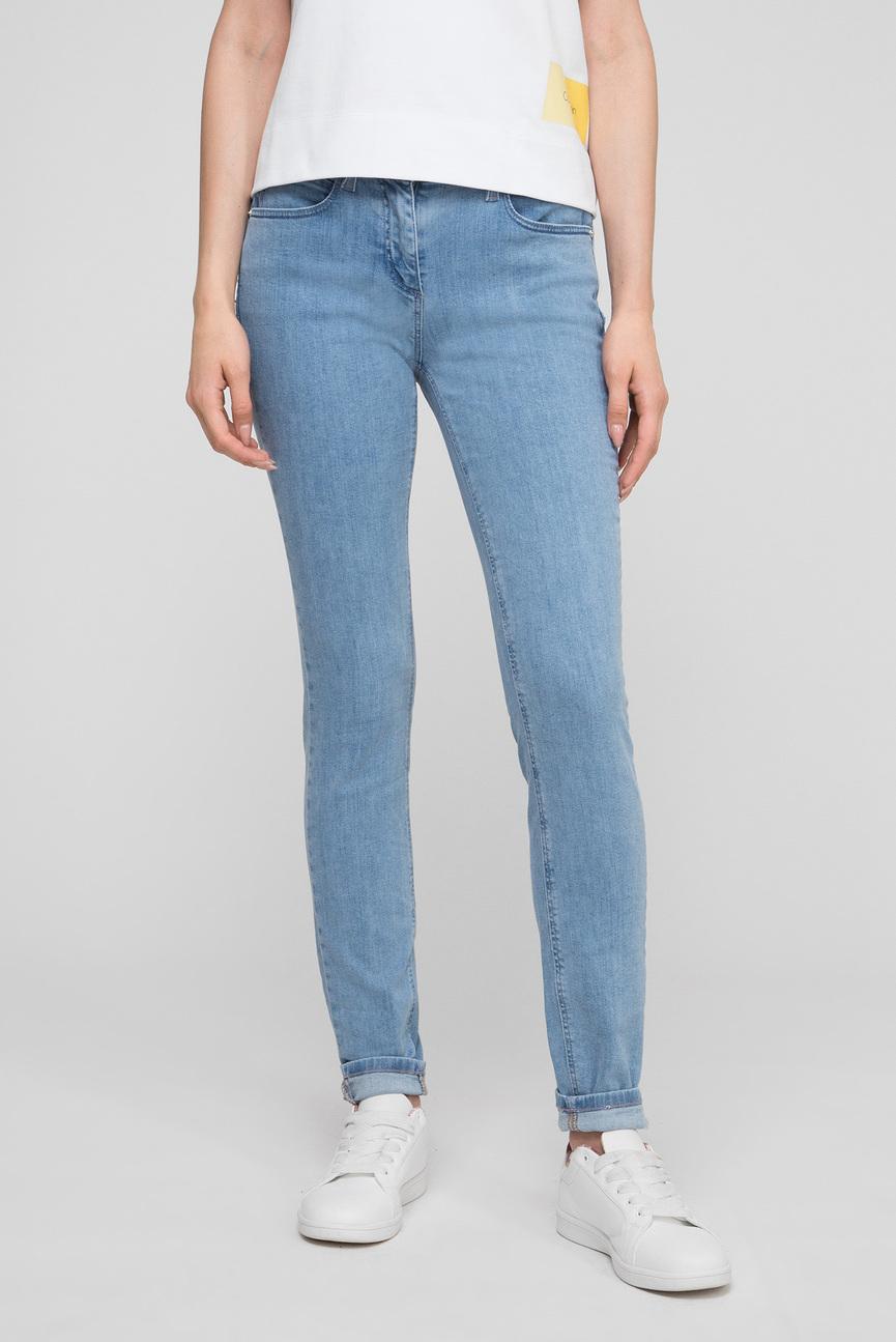 Женские голубые джинсы SKINNY 5PKT JEAN
