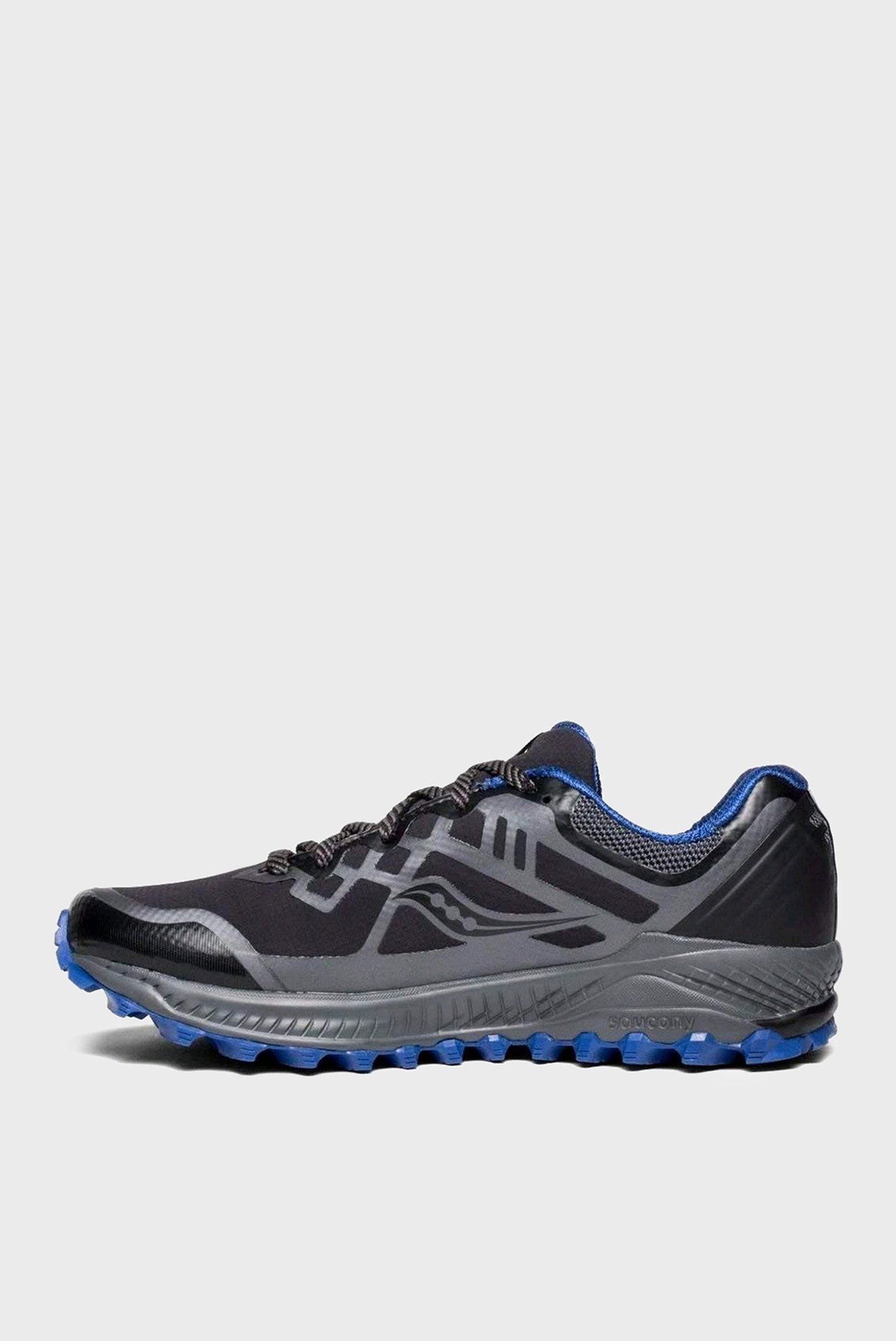 Купить Мужские черные кроссовки PEREGRINE 8 GTX Saucony Saucony 20454-1s – Киев, Украина. Цены в интернет магазине MD Fashion