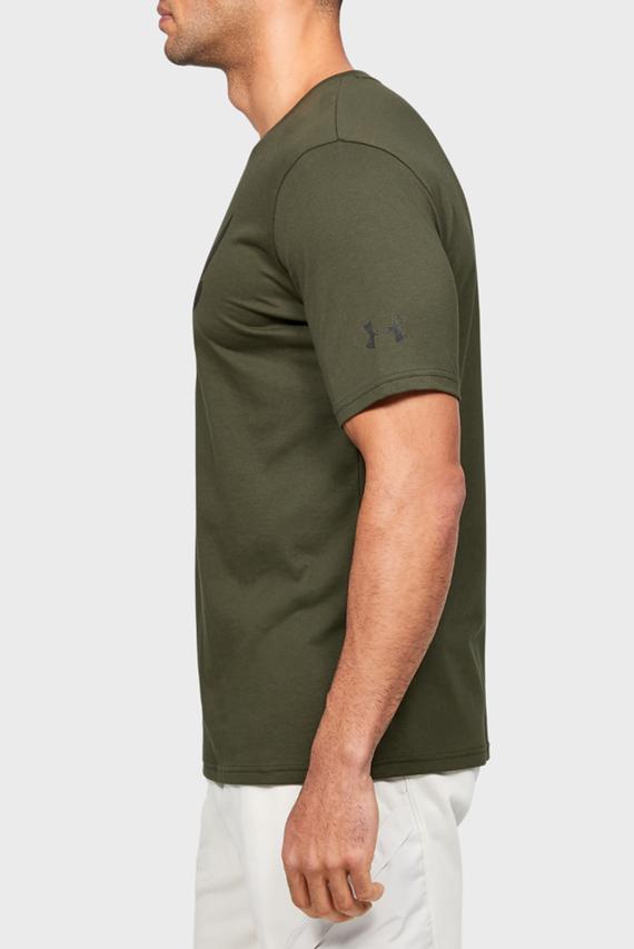 Мужская зеленая футболка Project Rock Brahma Bull SS