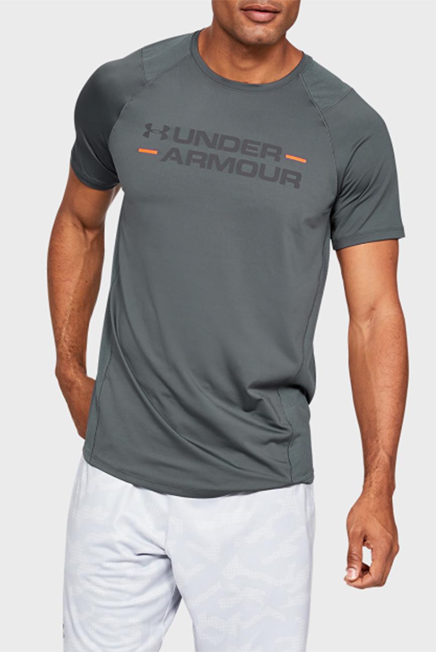 Мужская серая футболка с принтом MK1 SS Wordmark