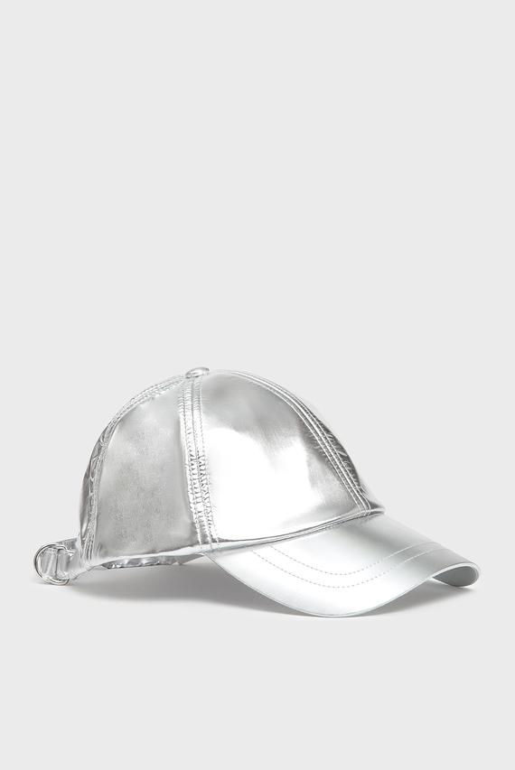 Серебристая кепка CIBRAME