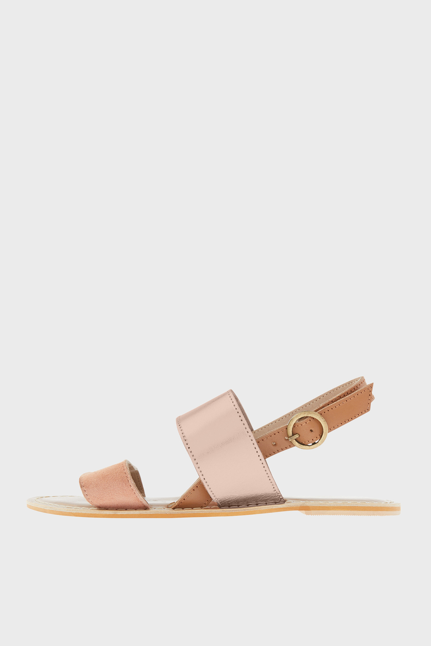 Женские розовые сандалии MADRID ANKLE STRAP