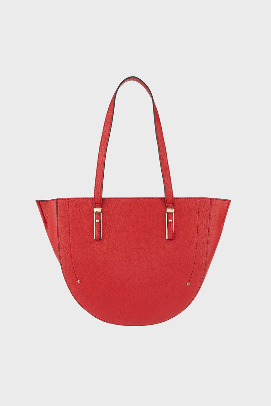 Женская красная сумка на плечо MIRANDA CRESCENT SHO