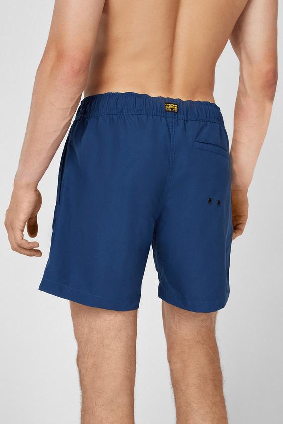 Мужские синие плавательные шорты Dirik solid
