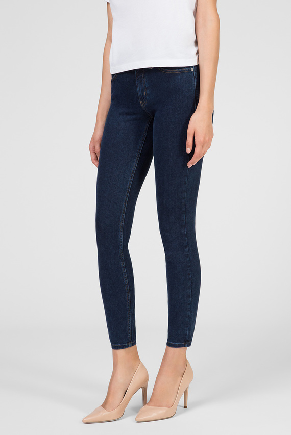 Женские темно-синие джинсы SKINNY JEAN ANKLE - DARK BLUE