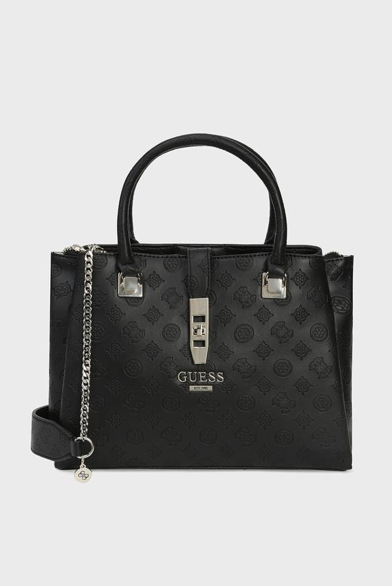 Женская черная сумка на плечо PEONY CLASSIC GRLFRND CARRYALL