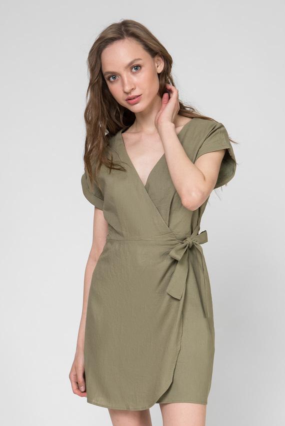 Женское зеленое платье JULIETA