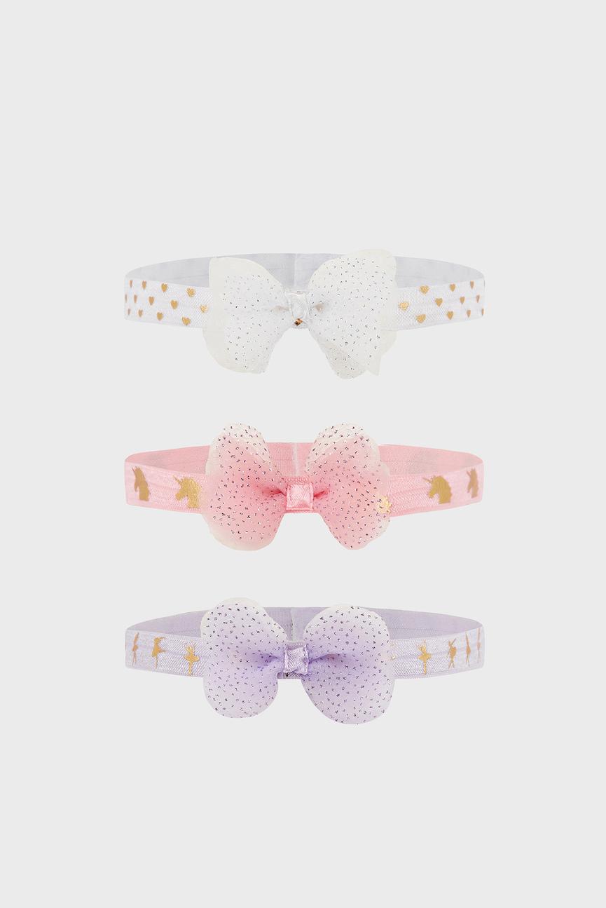 Набор детских повязок (3 шт) Baby 3x Foil Bow Ban