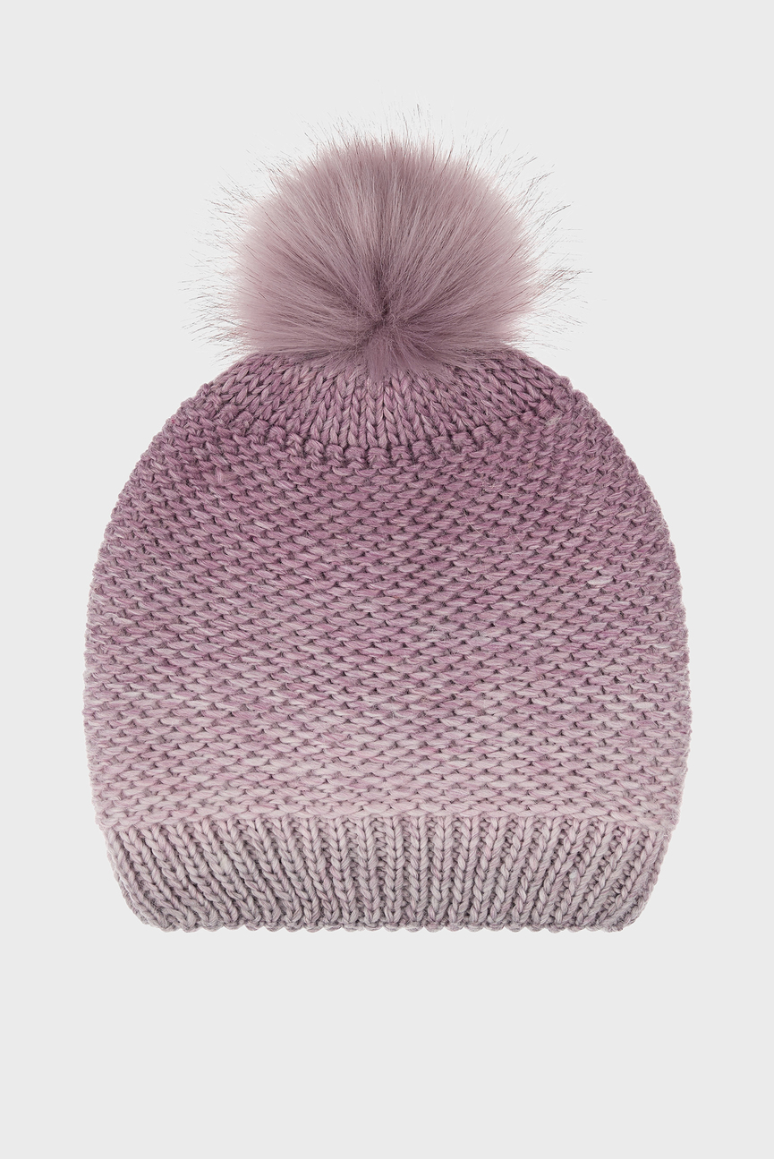 Женская розовая шапка THINS OMBRE SPACEDYE