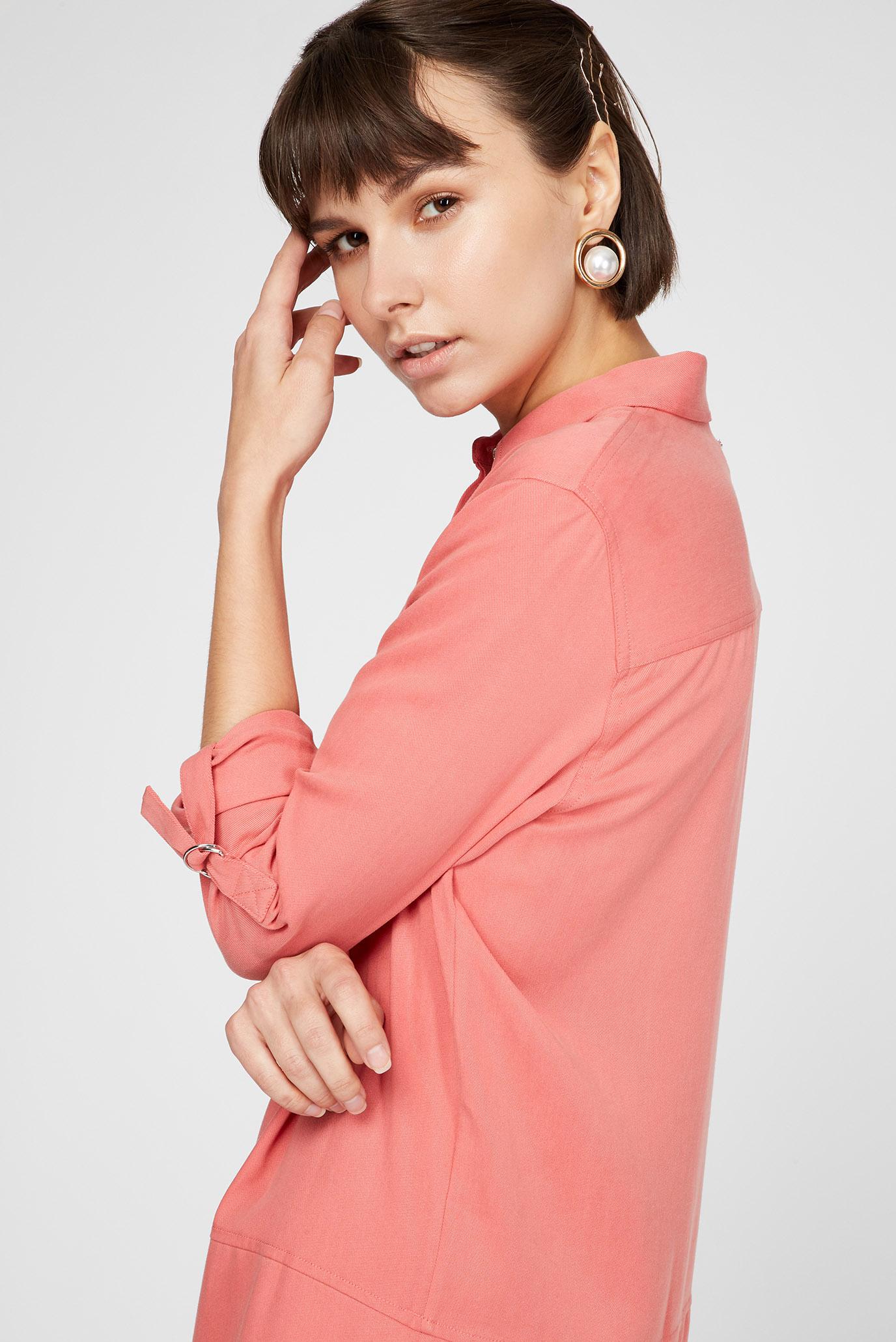 Женское розовое платье LS TENCEL Calvin Klein