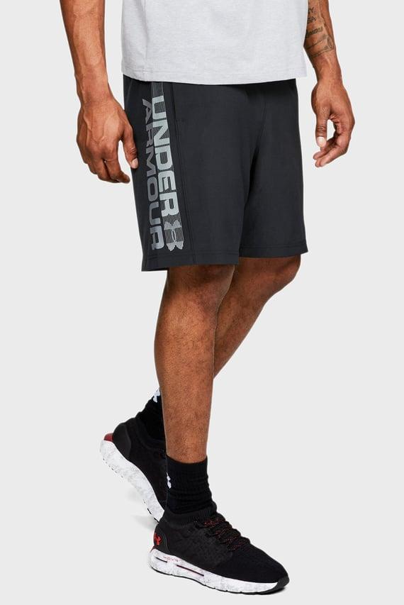 Мужские черные шорты Woven Graphic Wordmark Short