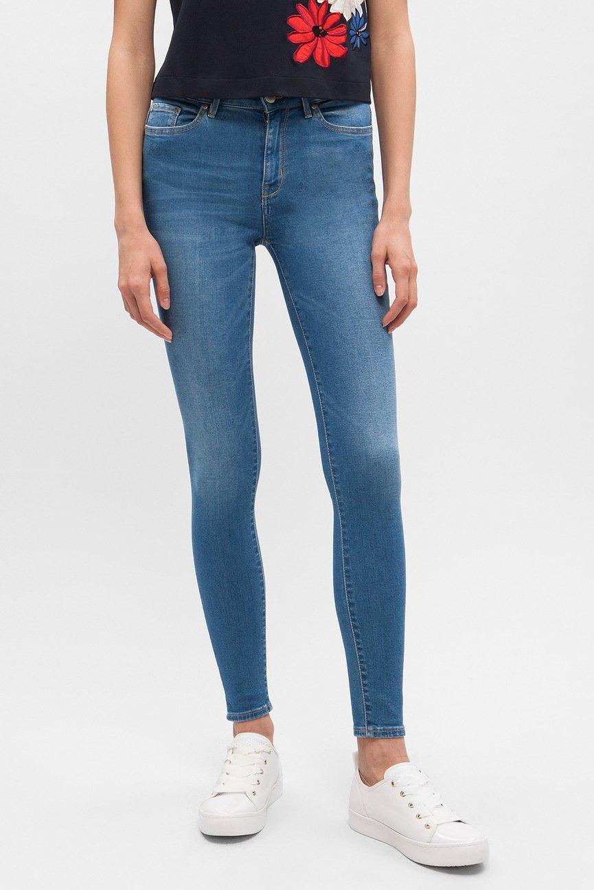 Женские синие джинсы HARLEM HW ANKLE SERENA