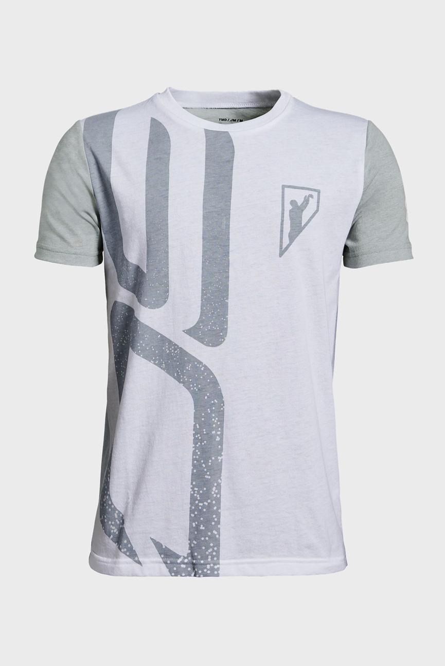 Детская белая футболка SC30 Initials SS