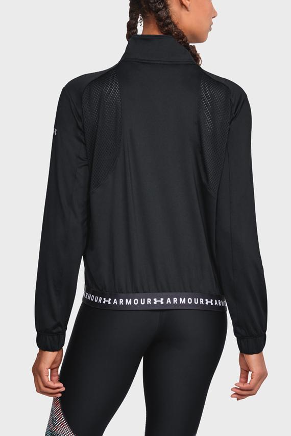 Женская черная куртка HeatGear® Full Zip