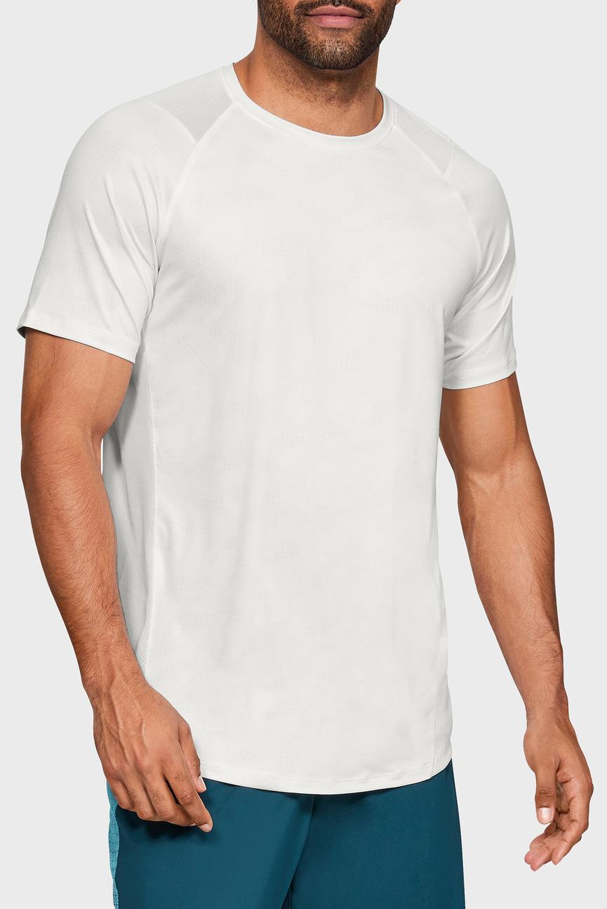 Мужская белая футболка MK1 SS Printed