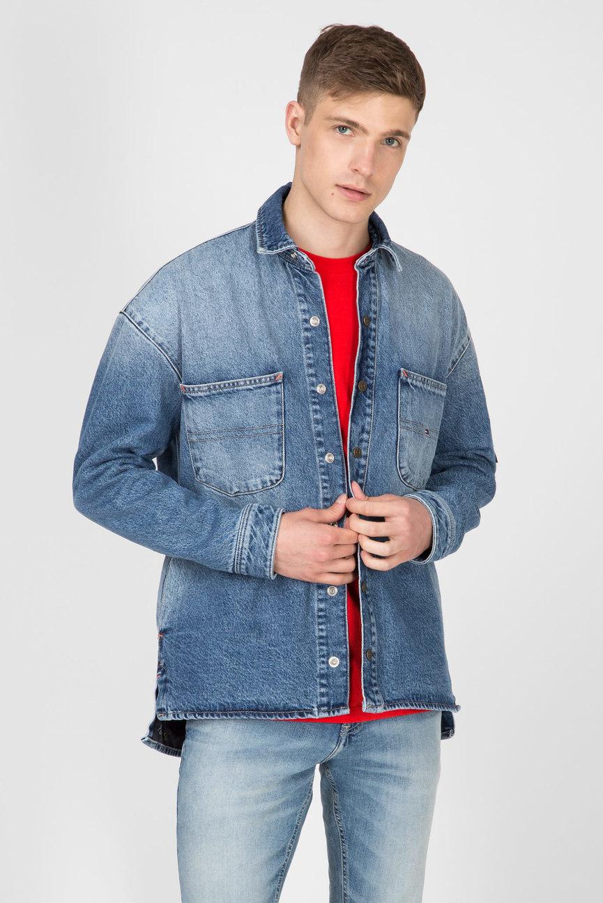 Мужская синяя джинсовая куртка TJM DENIM